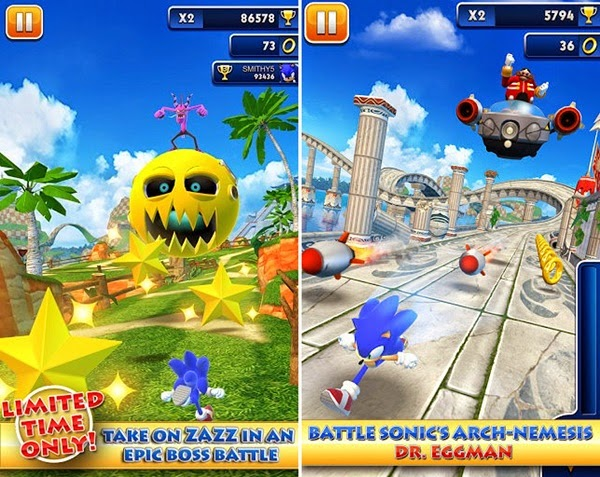 download game apk sonic