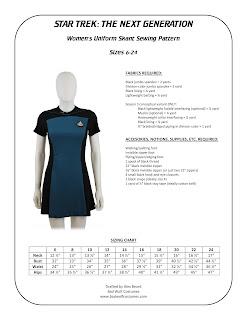 Women's TNG skant pattern