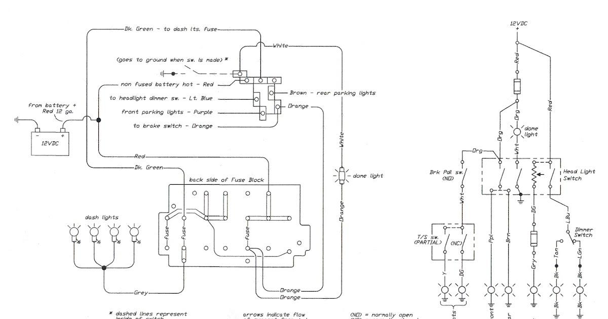 Free Auto Wiring Diagram: 1966 Chevrolet CK10,20 & C30