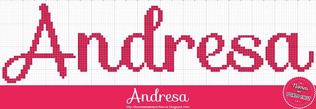 Nome Andresa em Ponto Cruz