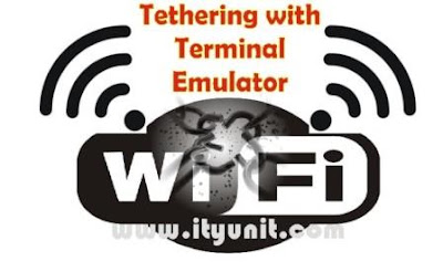 Tether-with-terminal-emulator-ityunit