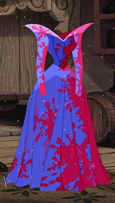 Sleeping Beauty Blue Pink Dress Tutorial