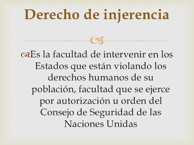 ¿Qué es la injerencia humanitaria? -Juan Carlos Diaz