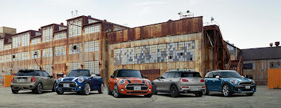 Source: BMW World of Passion and Joy website. Minis.