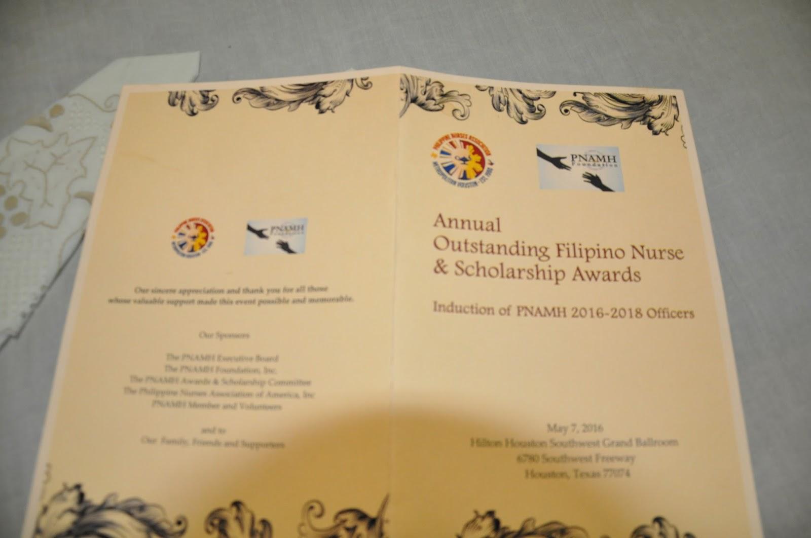 nursing scholarship essay format