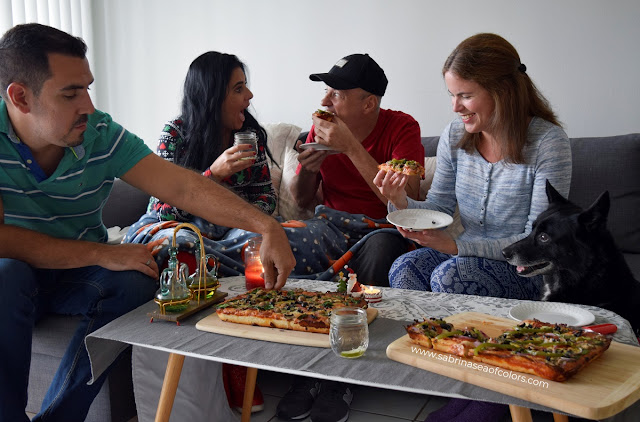 Pizza en familia, storytime