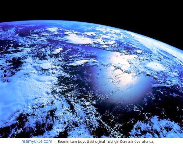 antartikanın uzaydan görünümü
