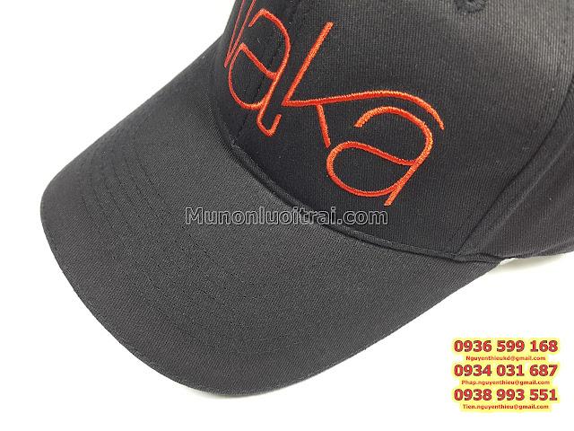 Báo giá nón lưỡi trai in thêu logo, điểm lưu ý về giá nón lưỡi trai in thêu logo