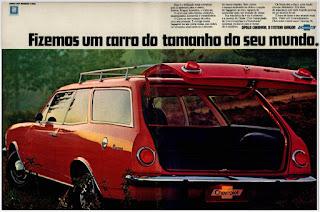 propaganda 1975 - Chevrolet Caravan 76, GM anos 70, Chevrolet década de 70, carros Chevrolet anos 70, Oswaldo Hernandez, Caravan 76,