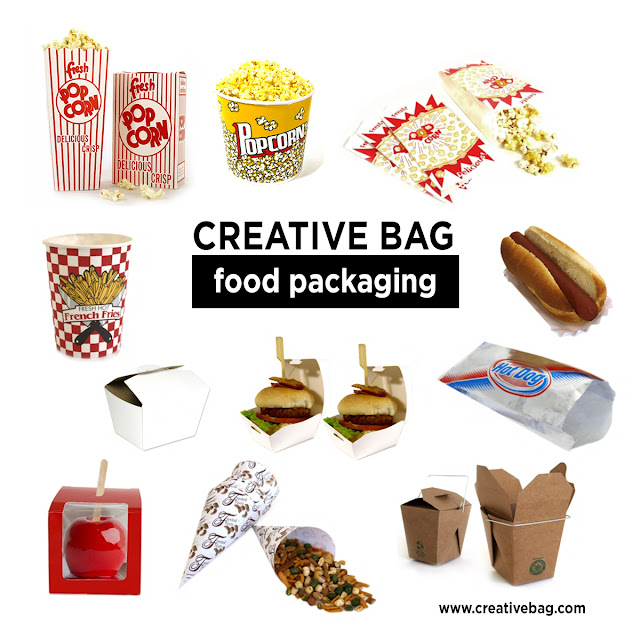 food packaging from CreativeBag.com's blog