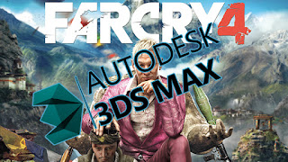 使用3dsMax和Ornatrix毛髮插件製作的遊戲 Far Cry 4