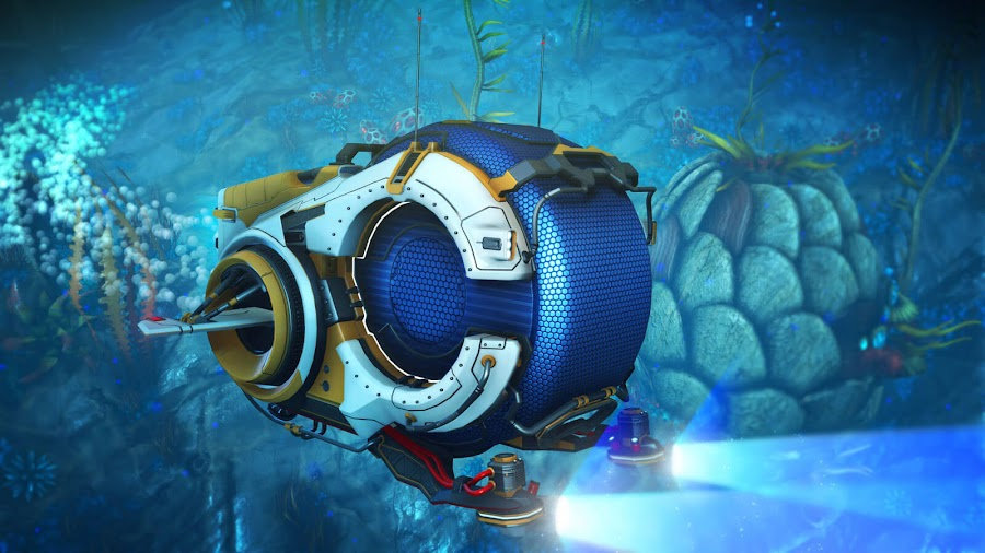 no man's sky the abyss free update nautilon
