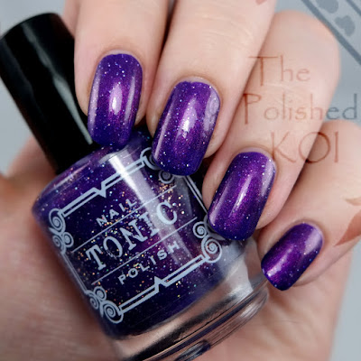 Tonic Polish Huckleberry Sparkle