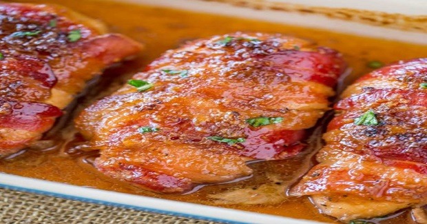 Bacon Brown Sugar Garlic Chicken Recipe