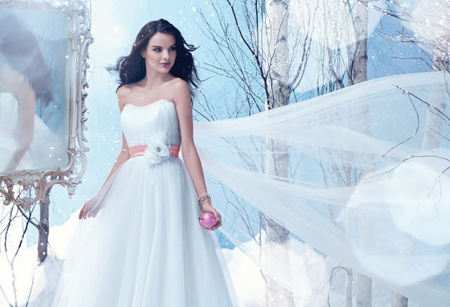 The 2013 Alfred Angelo Disney Fairy Tale Wedding Gowns - Snow White