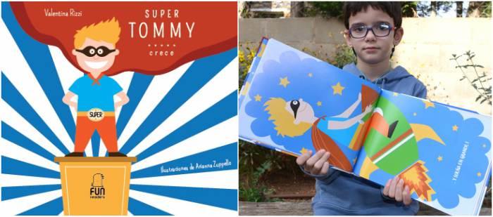 cuentos libros infantiles potenciar, fomentar sana alta autoestima super tommy crece