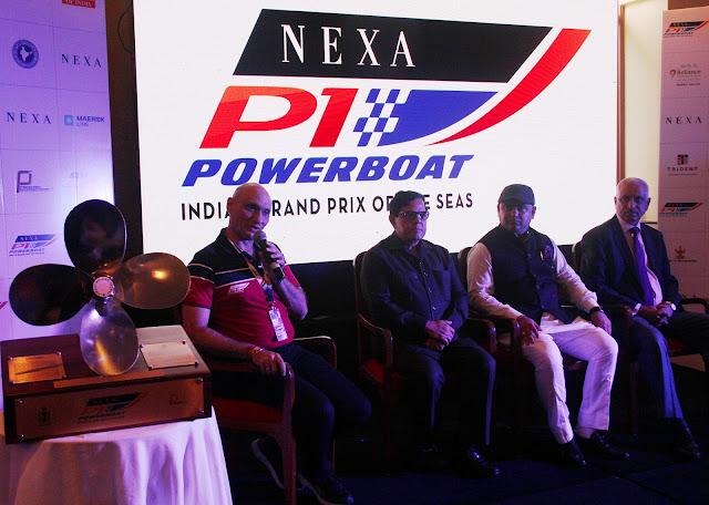 Nexa P1 Powerboat-Virat Rolling Trophy Unveling