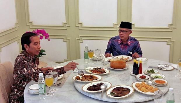 Usai Ajak Makan Ketua NU, Jokowi Juga Ajak Makan Ketua Muhammadiyah, Ternyata Mau Mbahas Ini