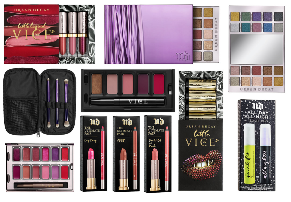 Urban Decay 2017 Gifting & New Sets