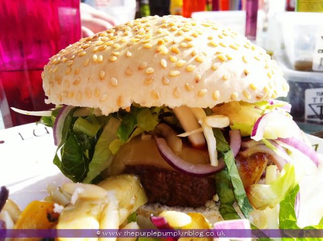 Juicy Handmade Hamburgers at The Purple Pumpkin Blog