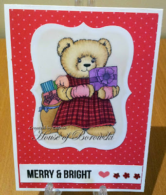 Morgans ArtWorld Xmas Bear