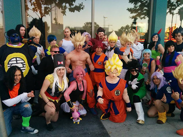 dragon ball z cosplay