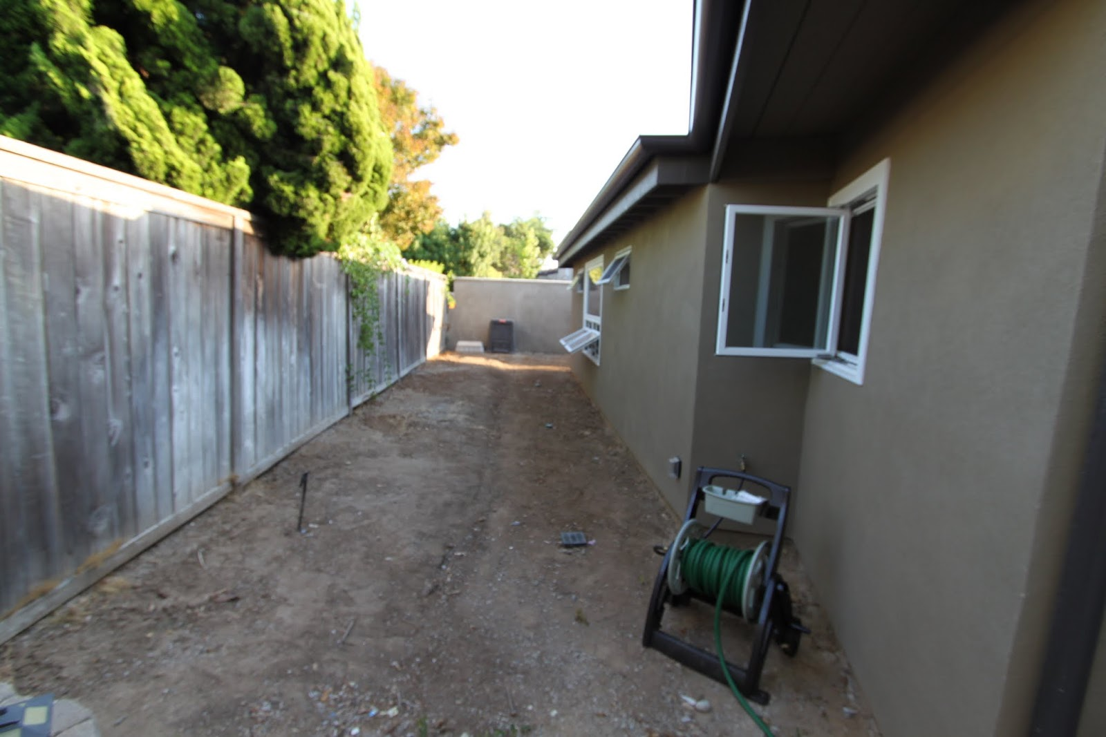 High Quality Mid Century Modern Landscaping Before Picture