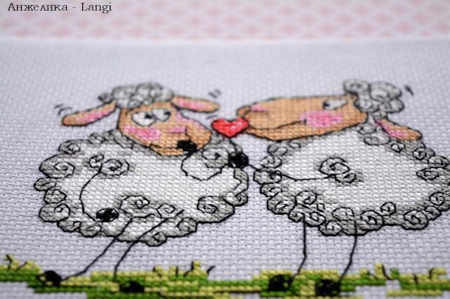 Романтические овечки