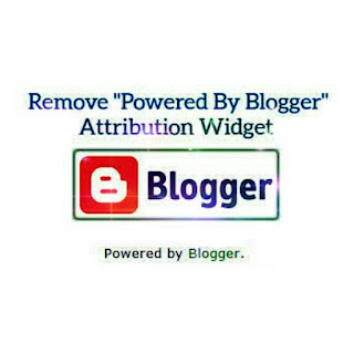 Attribution Widget in Blogger