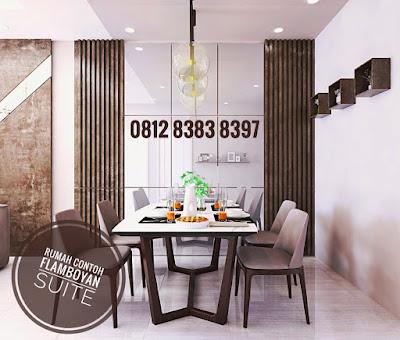 Ilustrasi Rumah Contoh Perumahan The Flamboyan Suite Medan Dengan Konsep Minimalis Tropis Di Simpang Pemda Setiabudi Ring Road Medan