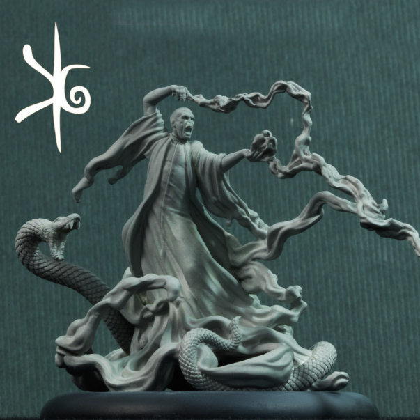 Knight Models: Harry Potter Miniature Game - Lord Voldemort Character