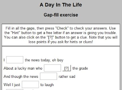 ELT EFL ESL CLIL TEFL Resources, Games, Activities: Simple Past gap-fill activity