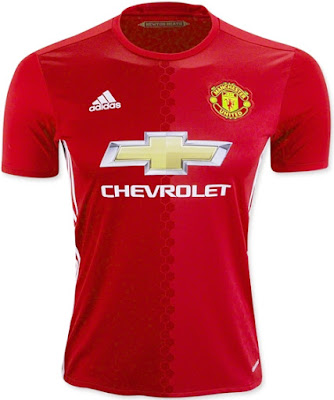 New Manchester United 16-17 Home Kit Adidas