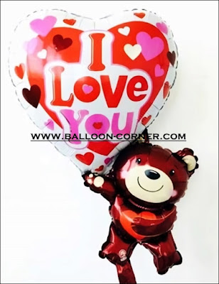 Balon Foil Bear I Love You (NEW)