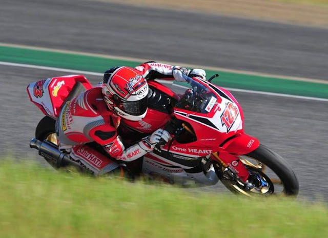 Rheza Danica pole Position AP250 Suzuka Jepang 2018