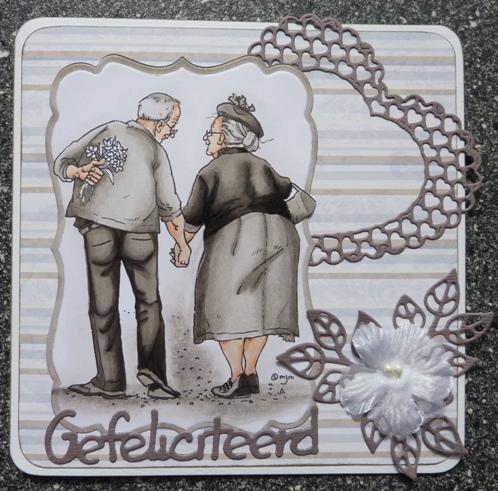 kleur 40 jaar getrouwd Brenda's kaarten: 40 jaar getrouwd kleur 40 jaar getrouwd
