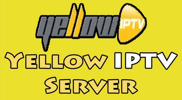 تحميل تطبيق Yellow IPTV لهواتف الاندرويد