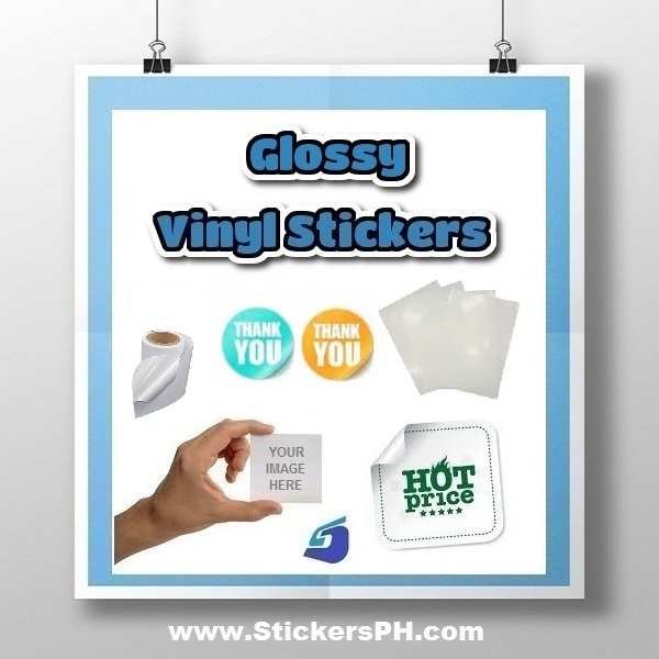 Custom Glossy Vinyl Stickers