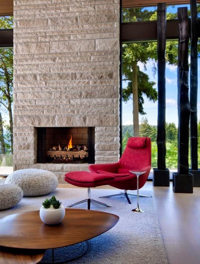 Salas de estar con chimenea - Ideas de salas con estilo