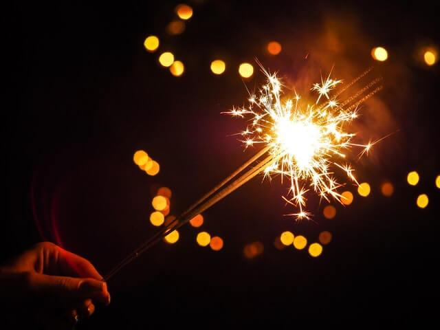Bright Burning Celebrate Celebration HD Copyright Free Image