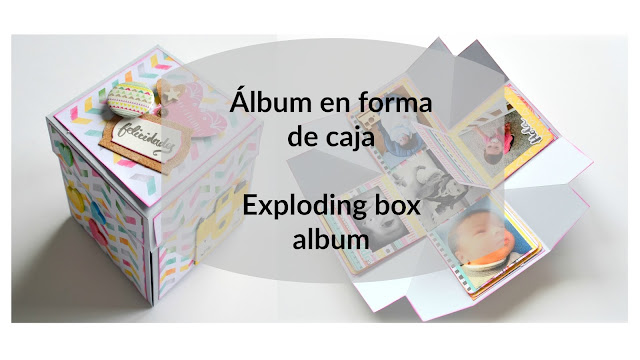 tutorial exploding box album