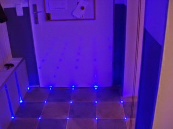Creative LED Bathroom tile ideas, LED tiles technology