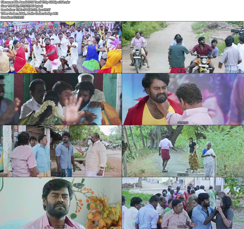 Billa Pandi 2018 Tamil 720p HDRip x264 | 480p 300MB | 100MB HEVC Screenshot
