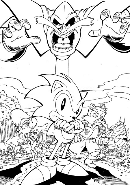 Printable Sonic Coloring Pages For Kids Gt Gt Disney Coloring
