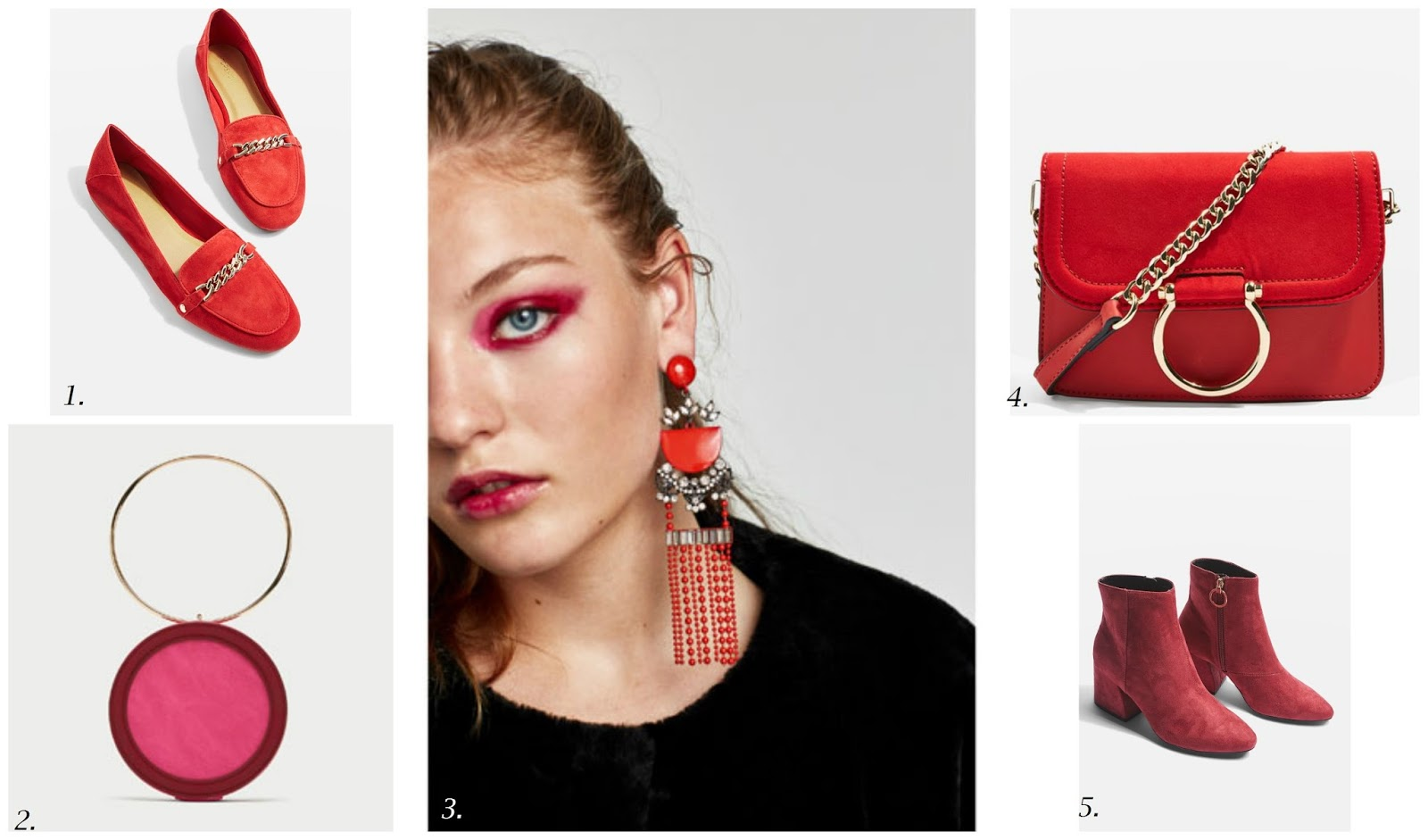 AW 17 Trend Focus - Red To Toe - How To Get The Look On The High Street - 5