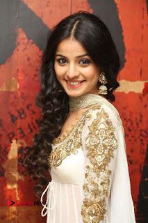 Telugu Actress Mahima Makwana Stills in White Desginer Dress at Venkatapuram Movie Logo Launch  0071.JPG