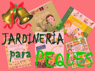 Libros infantiles de jardinería