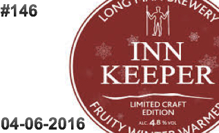 #146 Inn Keeper Keg Label