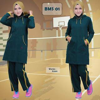 kaos-olahraga-wanita-BMS01-green
