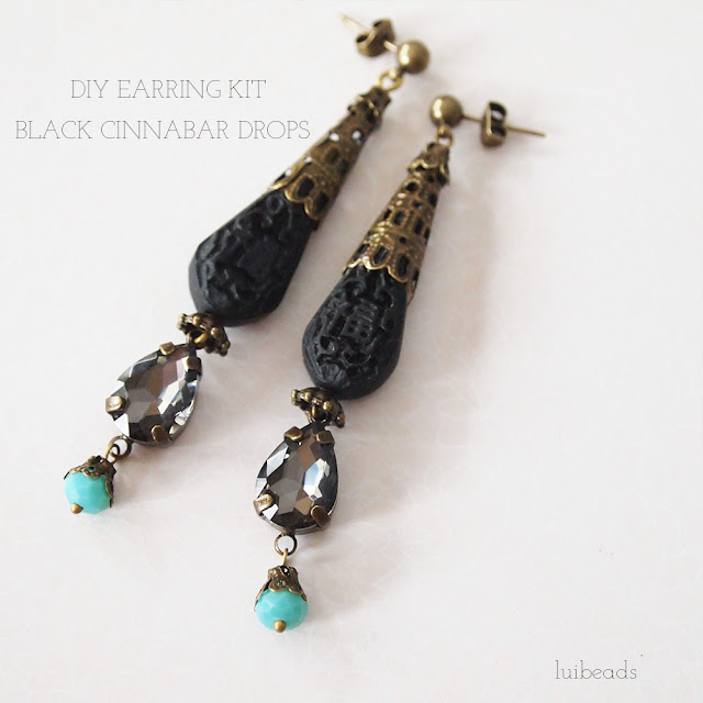 luibeads DIY earring kit
